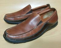 Cole Haan Driving Loafers Slip On Brown Leather Shoes Mens 10 M