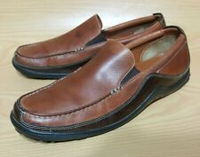 001eb08a101 Cole Haan Driving Loafers Slip On Brown Leather Shoes Mens 10 M