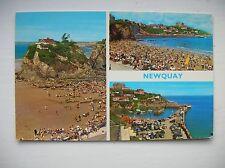 Newquay, Towan Beach etc (E T W Dennis Post Card)