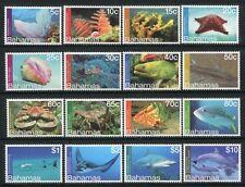 Bahamas 2012 Meerestiere Fische Krebse Seestern Korallen Freimarken MNH