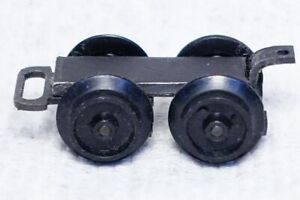 American Flyer S-gauge custom rear truck for steam engine, made from 21165 pilot