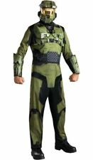 Adult HALO 3 MASTER CHIEF Costume Mask Halloween XL Cosplay Disguise Unisex Rubi