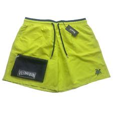 Vilebrequin Mens Swim Shorts - Moka Classic Cut Turtle Swimwear