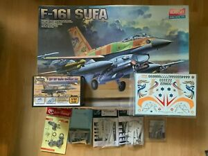 1/32 Scale Academy F-16I SUFA Plus Extras UK ONLY BIDS !!!