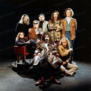 8x10 Print Frank Zappa and the Mothers of Invention #SDFZ
