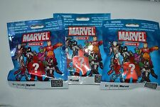 MARVEL MEGA BLOKS SERIES 1 # 91248 - THREE BLIND PACKS FREE SHIPPING