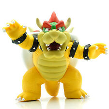 Super Mario Bros Bowser King Koopa PVC Action Figure Toys Kid's Gift New