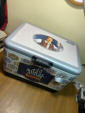 Samuel Adams Coleman Boston Lager Ice chest Cooler 54 Quart Steel Belted