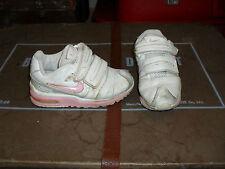 Kids Nike Air Max 90 White / Pink Size 8