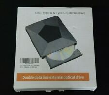XD007 External Optical Drive USB Type-A and Type-C