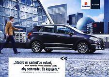 Suzuki SX4 S Cross 2015 brochure catalogue slovaque Slovakia rare