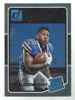 2016 Donruss Jonathan Williams Years Stat Line Purple Rated Rookie RC #d 3/4 SSP