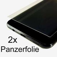 2 x PANZERFOLIE PET SCHUTZ FOLIE Fullscreen Displayschutz panzer folie