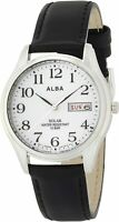 ALBA Men's Solar Wrist SEIKO Watch AEFD543 JAPAN OFFICIAL IMPORT