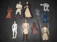 Lot of 10 - 1990s LFL Star Wars Action Figures NO DUPLICATES RARE SET CLEAN