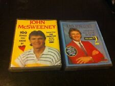 John McSweeney 100 songs you know by Heart Volume 1 2 cassette Baby Face Swanee