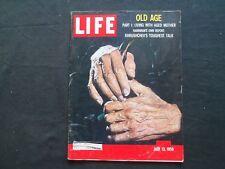 1959 JULY 13 LIFE MAGAZINE - OLD AGE - L 1164