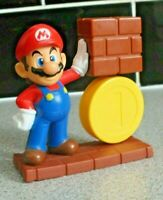 McDonalds Happy Meal Super Mario 2013 Mario Wall and Coin