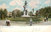 New Orleans Louisiana~Victorian Ladies & Gents~Lafayette Square~1906 TUCK PC