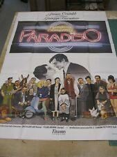 Cinema Paradiso - Vintage Movie Poster 1980's