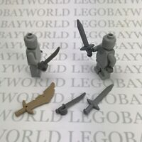 Lego Minifigure Roman Gladius X5 Sword / Weapon / Lord Of The Rings / Gladiator