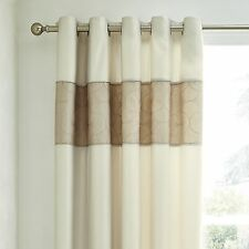 Dunelm Polyester Eyelet Top Curtains