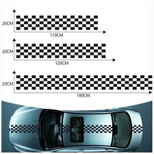 3Pcs Car Body Vinyl Decal Sticker Sports Racing Race Car Long Stripe Decals Kits