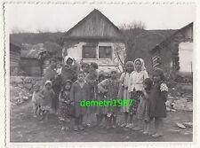 Foto Zigeuner Mütter Frauen mit vielen Kinder um 1940 gipsy sinti & roma !
