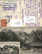 384425.Garmisch Gasthof Kainzenfranz Bergkulisse Mehrbildkarte