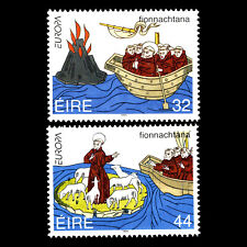 Ireland 1994 - EUROPA Stamps - Great Discoveries  - Sc 923/4 MNH