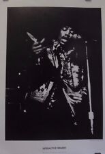 Jimi Hendrix | Interactive Images | Photo by Grant Jacobs | Orig 2000s Poster