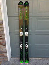 New listing Head Monster 108 Ti 177 skis + Marker Griffon bindings all mountain chargers!!!
