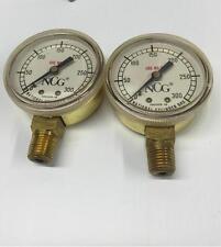 25 NCG 0-300 Welding Oxy Acetylene National Cylinder Gas Pressure GAUGE 10010518