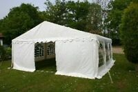 6mx6m HEAVY DUTY 500gsm PVC COMMERCIAL MARQUEE/PARTY/WEDDING TENT