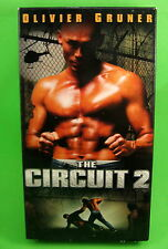 The Circuit 2 VHS Olivier Gruner Jalal Merhi kickboxing Action Thriller 2003