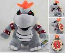 Hot!  New Super Mario Bros. 2  Dry Bowser Plush Soft Toy Stuffed Animal Doll Ted