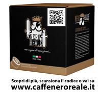 100 CAPSULE CAFFE NERO REALE MISCELA IMPERIALE LAVAZZA ESPRESSO POINT