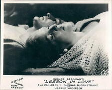 A LESSON IN LOVE INGMAR BERGMAN EVA DAHLBECK HARRIET ANDERSEN LOBBY CARD 1954