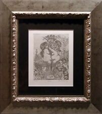 "Charles Bragg ""Lust"" Hand Signed w/custom frame MAKE AN OFFER!"
