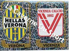 N°623 SCUDETTO # ITALIA HELLAS VERONA VICENZA STICKER PANINI CALCIATORI 2004