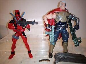 Custom Parts Marvel Legends 6in domino Guns set X-men fodder deadpool punisher