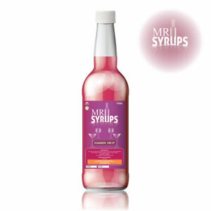 750ml Passion Fruit Flavour Drink Syrup - Flavouring for Drinks - Cocktail Syrup