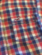 Hollister Womens Plaid Red Shirt Size small