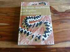 NEW NATURALIST BRITISH AMPHIBIANS AND REPTILES 1951 1ST
