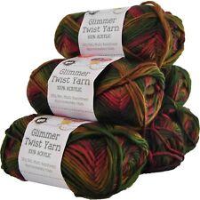 Glimmer Twist Acrylic Yarn 100g 134m Multi Rainforest