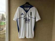 England Cricket 2011/2012 Jersey L Adidas Shirt White
