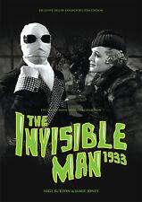 The Invisible Man 1933 Claude Rains Universal horror movie magazine