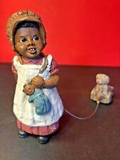 """All God's Children"", Martha Holcombe Signed Figurine, ""Bonnie"" #86, (1987)"