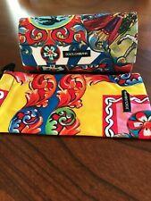 New Auth Dolce & Gabbana Sunglasses Glasses XL Hard Case Carretto w/Pouch