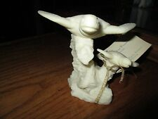 Coralei Sculpture from Hawaii Turtles Sitting On Rock Formation With Tags